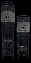 Concrete refinery icon