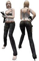 Criss in-game model