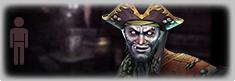 Pirate psycho zombie