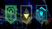 Faction Banners by Tim Denee