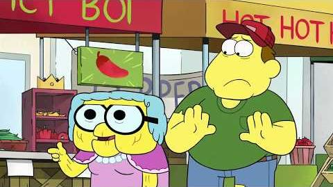 Big City Greens Chip Whistler Returns! Finding the Hottest Spice in the Big City (Clip)
