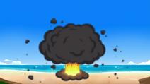 Wedding explodes