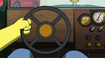 Old Kludge's steering wheel