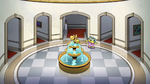 Two indoor fountains?