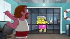 Gramma in beach jail