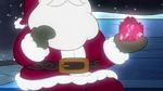 Santa understanding Cricket's selfless wish