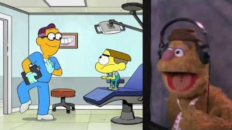 Fozzie Bear Voices Dr Enamel On Big City Greens (Hurty Tooth EXCLUSIVE scene)