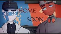 HOME SOON meme (Countryhumans)