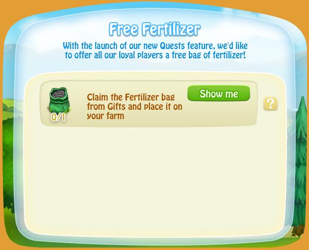 FreeFertilizerQuest