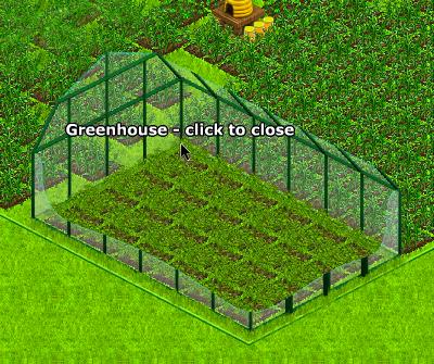 Greenhouse open
