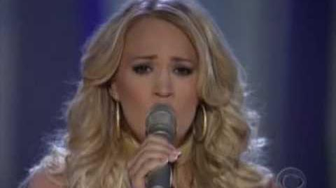 Carrie underwood -jesus take the wheel live acma 2006