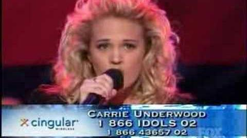 Carrie Underwood - Alone