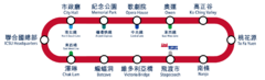 PRL route map
