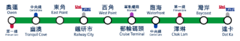 EWL route map