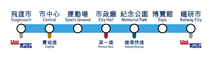 NSL route map