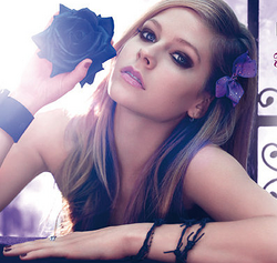 Avril Lavigne FORBIDDEN ROSE P N G VOTEM V
