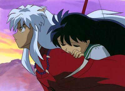 Inuyasha piggyback