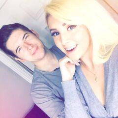 Aleks with is ex-girlfriend Vindictive