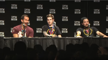 RTX 2nd Cow Chop Panel 2016 Reacting to the greatest question in RTX history