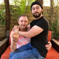 Alec with his dad