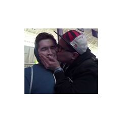 Aleks getting some love from a fan