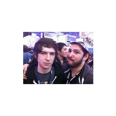 Aleks, James, and Kevin (in between Aleks and James) at Pax East 2013