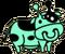 Evolved Alien Cow