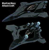 Martian-attack-craft