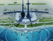 Venus spaceport