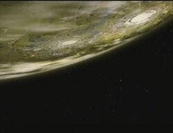 Callisto from orbit