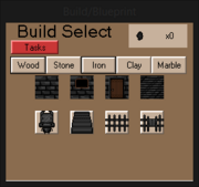 BuildMenuIron