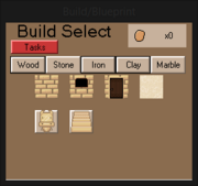 BuildMenuClay
