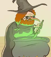 Alternate Universe Witch Jesse