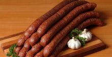 Polish smoked kielbasa
