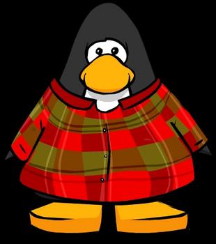 Flannel member