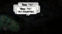 MMMMM, THAT WAS SCRUMPTIOUS