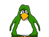 Floppy Green Penguin
