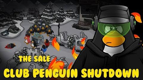 Club Penguin Shutdown Episode 4 - The Sale