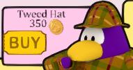 Tweed hat s
