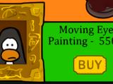 Moving Eye Painting