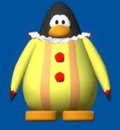 Clown suit player card