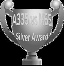Silver Award A335 vs H65
