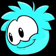 Cyan Puffle