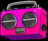 Hot Pink Boombox