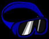 Blue Ski Goggles icon