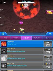 Abilities Screenshot