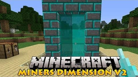 Minecraft Mods - Miners Dimension V2