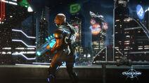 Commander Jaxon - Crackdown 3