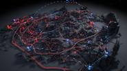 City map - Crackdown 3