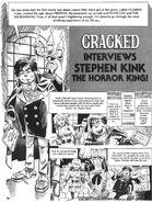 Cracked Interviews Stephen Kink The Horror King